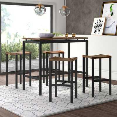 Mcgonigal 5 Piece Bar Height Dining Set - Wayfair