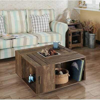 Cathleen Coffee Table with Storage - Wayfair