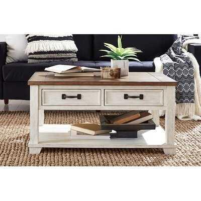 4 Legs Coffee Table with Storage - Wayfair