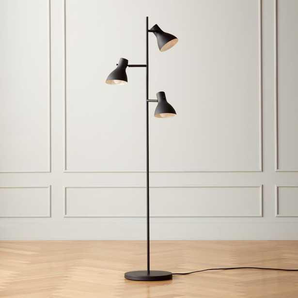 Belini Black Floor Lamp - CB2