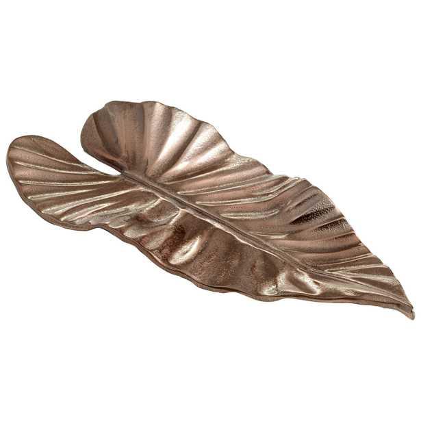 Small Leaf It Here Tray - Onyx Rowe