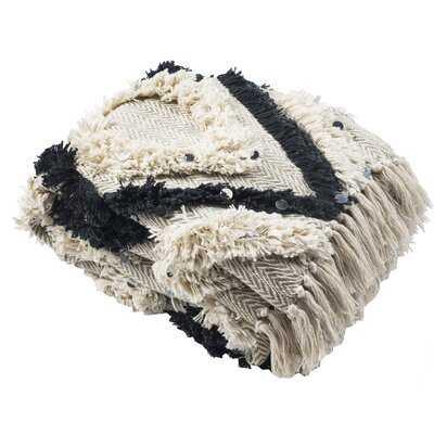 Amira Cotton Throw - AllModern