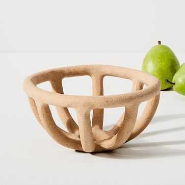 Small Fruit Bowl, Speckled - West Elm