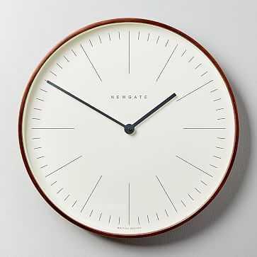 Newgate Mr. Clarke Clock, Large, Wood - West Elm