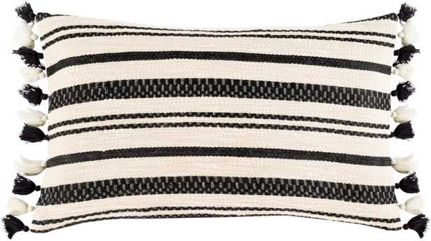 "Harlow Lumbar Pillow Cover, 12""x 20"" - Cove Goods"