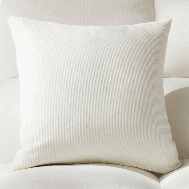 """20"""" Anywhere Pillow with Feather-Down Insert - CB2"""