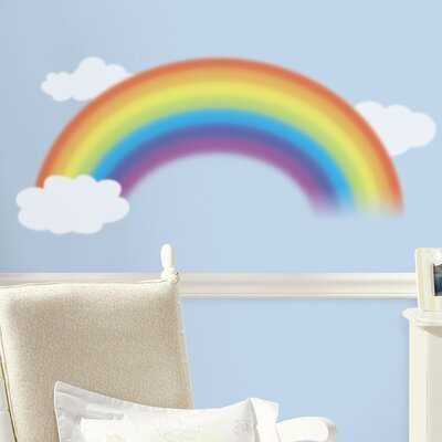 Regalado Over The Rainbow Wall Decal - Wayfair