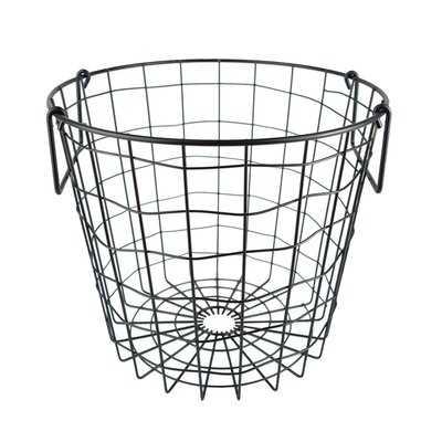 Round Metal Basket - Wayfair