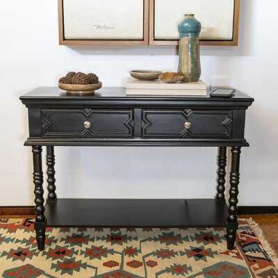 "Wilks 36"" Solid Wood Console Table - Wayfair"