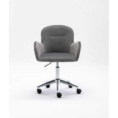 Velvet Swivel Shell Chair For Living Room ,Office Chair , Modern Leisure Arm Chair - Wayfair