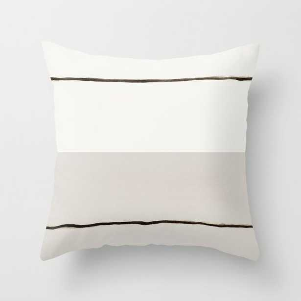 """Minimal Space 03 Couch Throw Pillow by Georgiana Paraschiv - Cover (20"""" x 20"""") with pillow insert - Outdoor Pillow - Society6"""