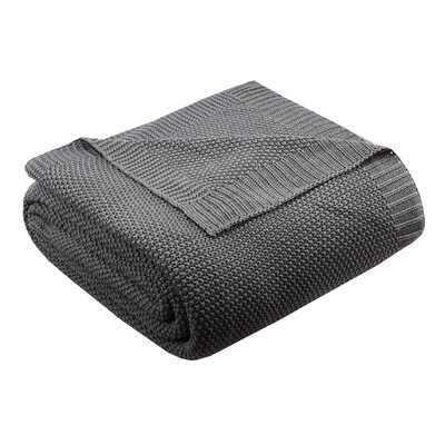 Elliott Knit Blanket - Birch Lane