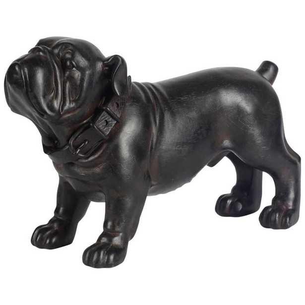 Mercana Hugo Decorative Object, Black - Home Depot