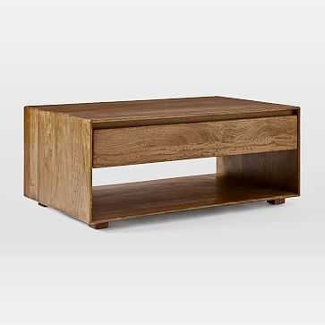 Anton Solid Wood Storage Coffee Table - West Elm