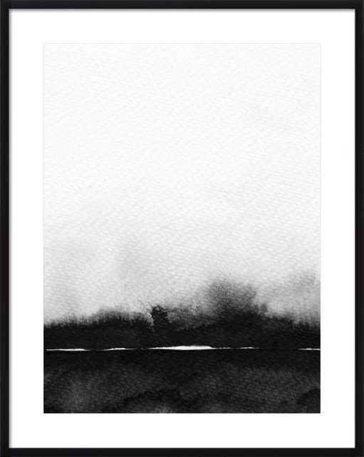 Abstract Landscape No. 1 by Melissa Selmin for Artfully Walls - Artfully Walls