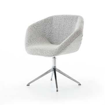 Angled Arm Desk Chair - West Elm