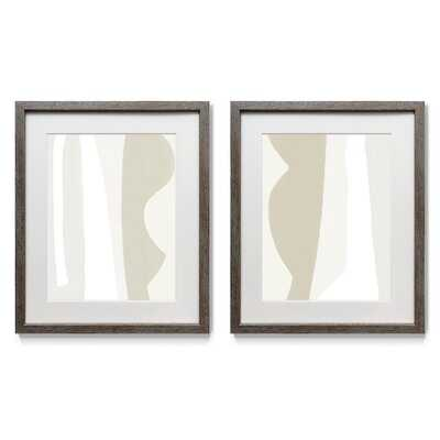 Fundamental I - 2 Piece Picture Frame Painting Print Set on Paper - Wayfair