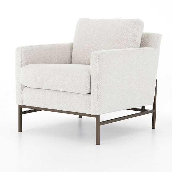 Bronze Iron Frame Chair - West Elm