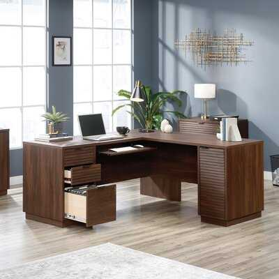 Englewood L-Shape Executive Desk - Wayfair
