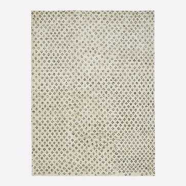 Hand Knotted Jute Diamonds Rug, 8'x10', Natural - West Elm
