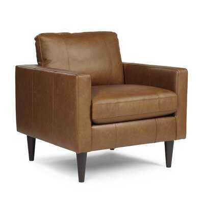 Antle 33'' Wide Tufted Armchair - Wayfair