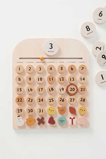 My Calendar Set By Moon Picnic in Assorted - Anthropologie