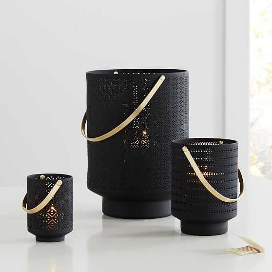 Modern Porcelain Lantern, Set of 3 - West Elm