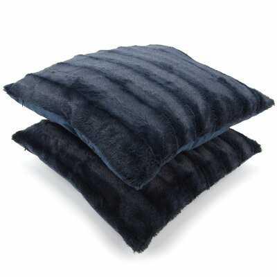 Donalsonville Indoor Faux Fur Throw Pillow - Wayfair