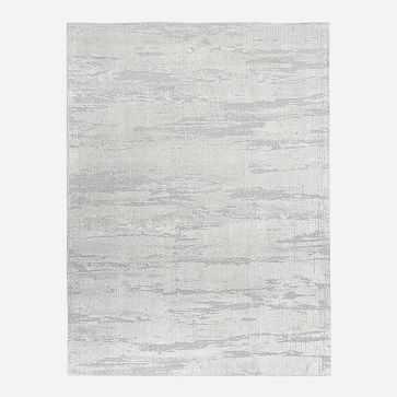 Leora Rug, 8'x10', Frost Gray - West Elm