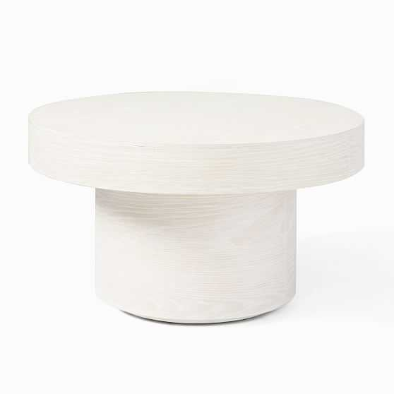 "Pedestal Coffee Table, 30"", Winterwood - West Elm"