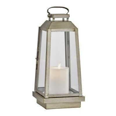 Edgewater Battery Powered LED Outdoor Lantern - Birch Lane