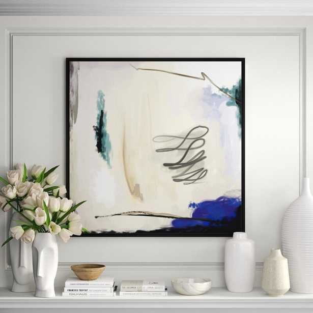JBass Grand Gallery Collection ' Abstract Face ' by PTM Images Painting on Canvas - Perigold