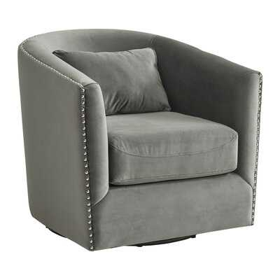 Firuza Swivel Barrel Chair - Wayfair