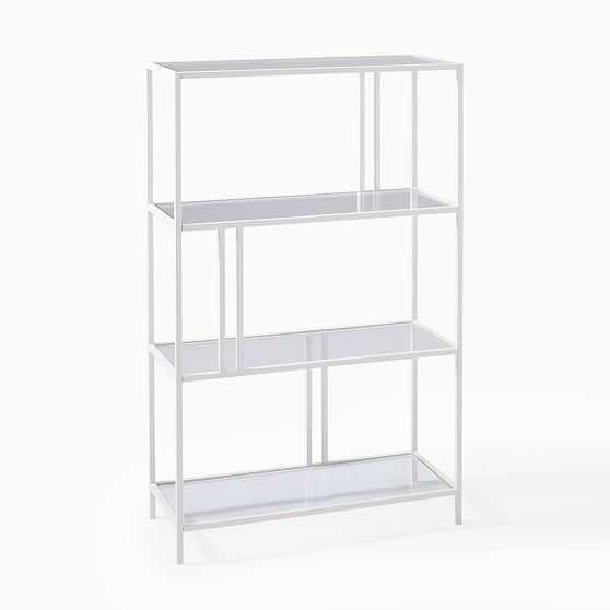 Profile Shelf Storage, White, Small - West Elm