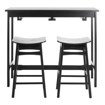 Chaska 3 Piece Pub Table Set - Wayfair