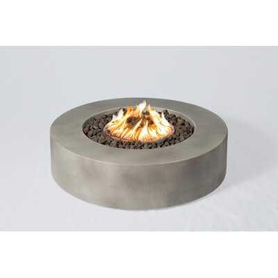 "42"" Aly Concrete Propane/Natural Gas Fire Pit Table - AllModern"
