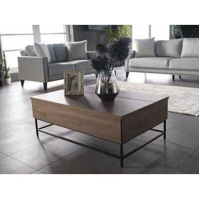 Stradbroke Lift Top Frame Coffee Table with Storage - Wayfair