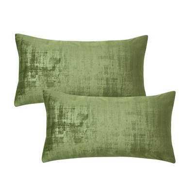 Jeannine Textured Euro Pillow Cover - Wayfair