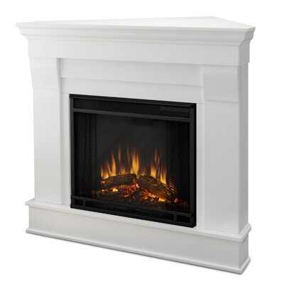 Chateau Corner Electric Fireplace - AllModern