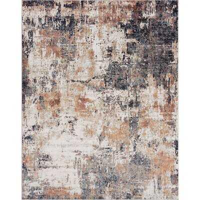 Antonio Contemporary Abstract Area Rug, Multi-Color - Wayfair