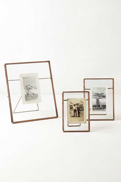 "8"" X 10"" Pressed Glass Photo Frame - Anthropologie"