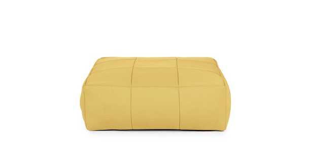Corvos Tuscan Yellow Ottoman - Article