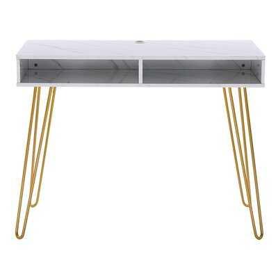 Moden Computer Desk With Storage Makeup Vanity Table - Wayfair