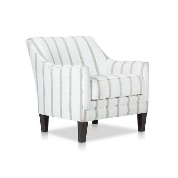 "Stone & Leigh™ Furniture Katelyn Stationary 22"" Armchair Fabric: Cream - Perigold"