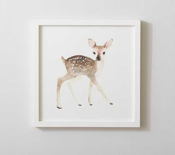 Baby Deer Framed Art - Pottery Barn Kids