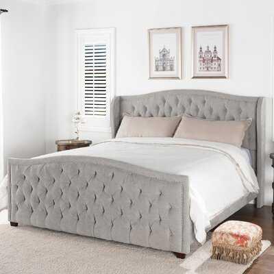 Vidette Tufted Upholstered Standard Bed - Wayfair