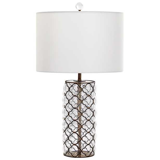 Small Corsica Table Lamp - Onyx Rowe