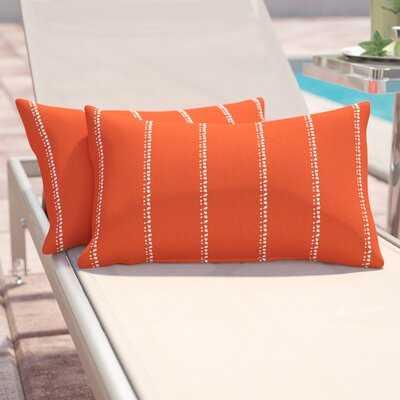 Outdoor Pillow Cover & Insert - Wayfair
