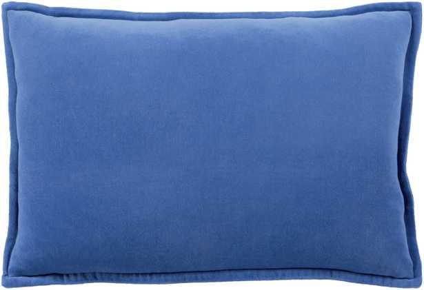 """Cotton Velvet - 20"""" x 20""""  Pillow Shell with Polyester Insert - Neva Home"""