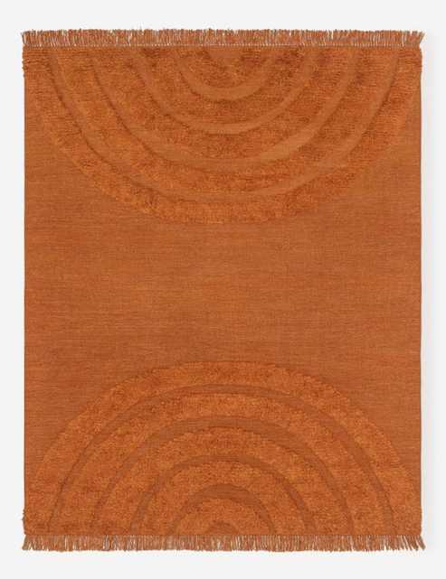 Arches Rug, Rust By Sarah Sherman Samuel 5' x 8' - Lulu and Georgia